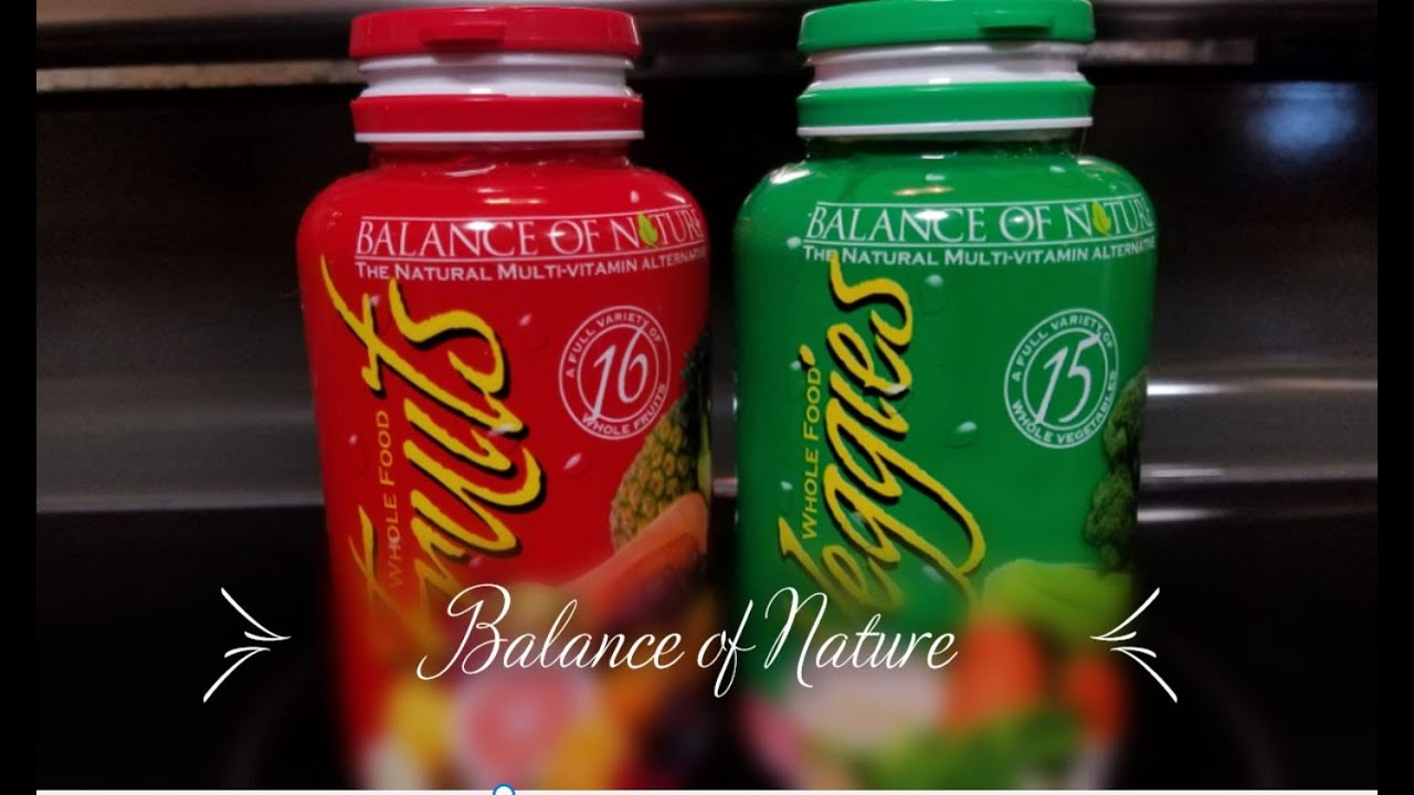 Balance of Nature Fruits & Veggies Product Review - YouTube