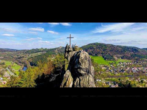 SKALNÍ HRAD VRANOV PANTHEON DRONEM 4K | JARO | DRON VIDEO | DJI PHANTOM 4 | KAM NA VÝLET S MDM