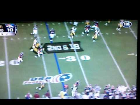 Broncos 2010 vs Pittsburgh