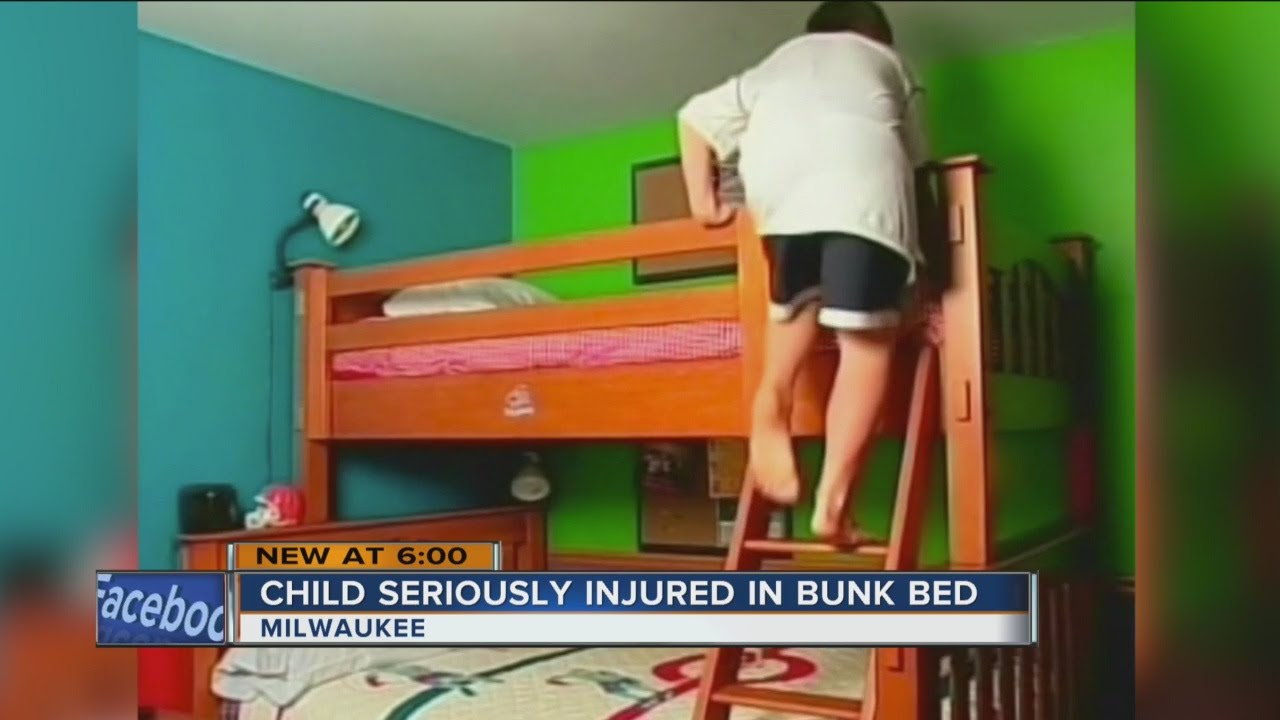 Milwaukee Toddler Seriously Injured In Bunk Bed Accident Youtube