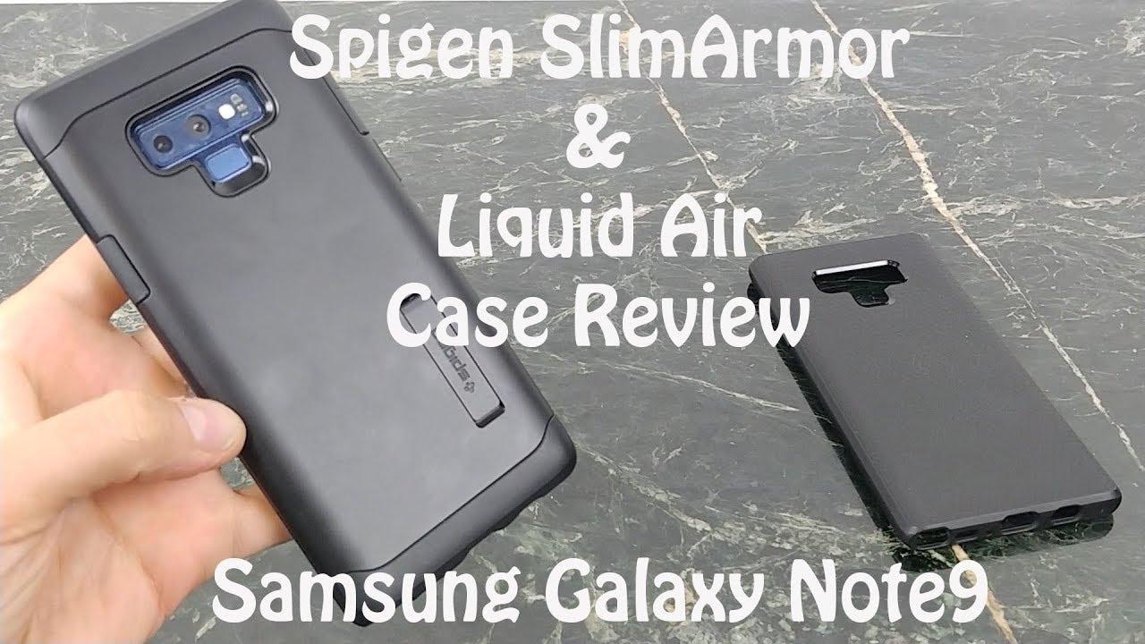 quality design d9a4c 87481 Spigen Cases for Samsung Galaxy Note 9 : Slim Armor & Liquid Air