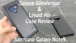 Spigen Cases for Samsung Galaxy Note 9 : Slim Armor & Liquid Air
