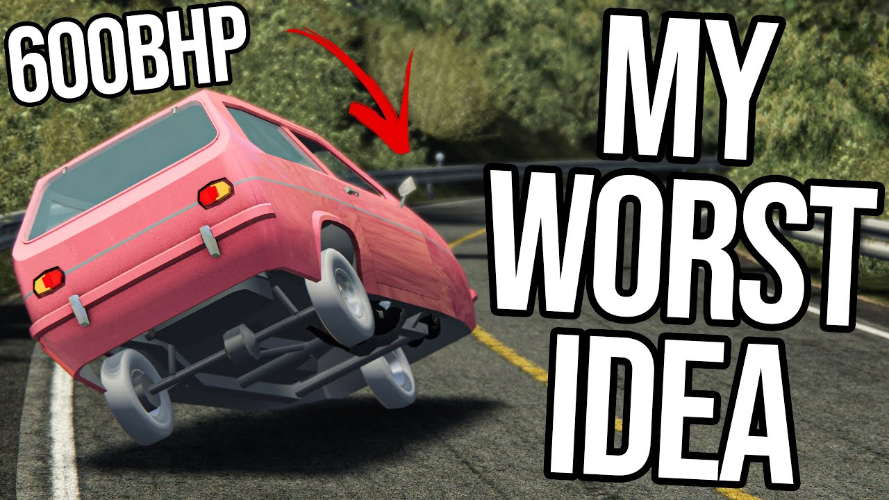 What Happens When You Put 600bhp Into A Reliant Robin?!