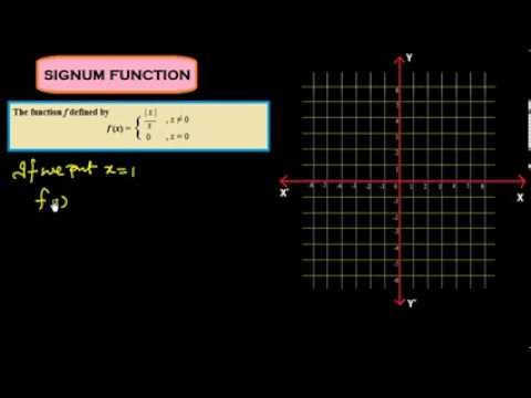 Function#4 Signum & Exponential Function