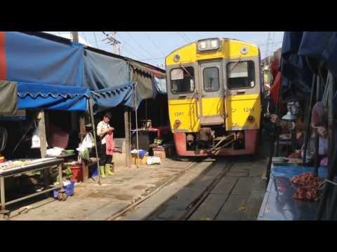 [SRT] Maeklong Railway Market