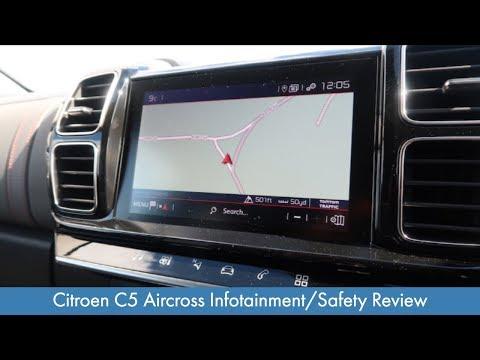 Citroen C5 Aircross Infotainment/Safety Review