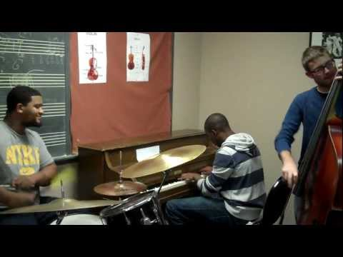 1. Berklee Jazz Workshop Audition 2012 - Jordan Williams - Tenor Madness