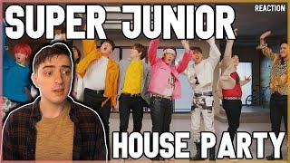 """SUPER JUNIOR - """"House Party"""" MV   REACTION"""
