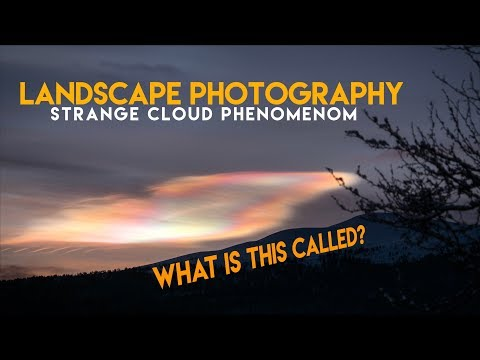 Landscape Photography || Strange Cloud Phenomenon And Cold Conditions (Vingelen, Tolga Norway)