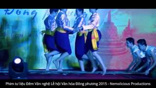 Múa sạp (เรือมอันเร) -  Nhóm múa Thái Lan học | Chung kết Đêm Phương Đông 2015
