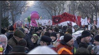 Retraite : manifestation contre la réforme (6 février 2020, Paris)