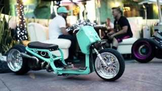 DORBYWORKS custom Honda Ruckus Minty version 2