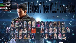 v2Movie : how to play tekken 7 v1 14 now free in pc and free new