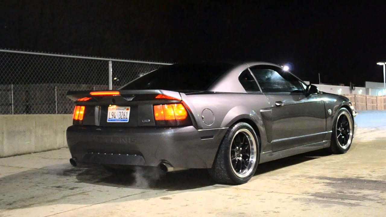 2003 Ford Mustang Mach1 Exhaust Youtube