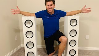 uNBOXING: KEF Q750 Floorstanding Speaker and quick review w/ Dreamedia Home Theater