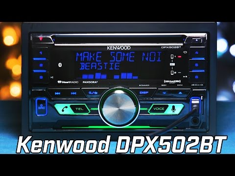 Kenwood DPX502BT Double DIN Stereo - Overview