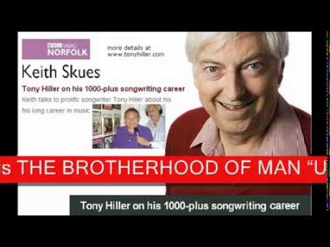 03 KEITH SKUES interviews TONY HILLER & plays UNITED WE STAND Brotherhood of Man