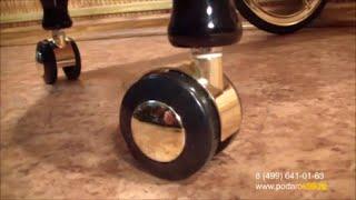 видео Сервировочный столик на колесах купить