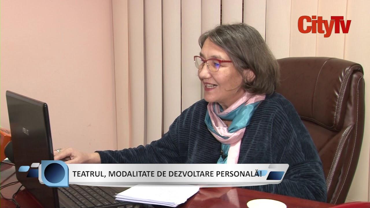 23.11.2020 SUBIECTUL ZILEI - TEATRUL, MODALITATE DE DEZVOLTARE PERSONALĂ!