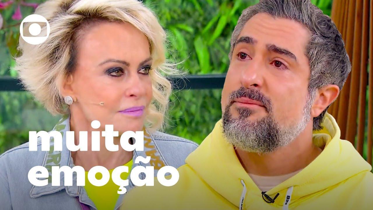 Download Marcos Mion se emociona ao falar sobre Romeo e o sonho de trabalhar na Globo! | Mais Você | TV Globo