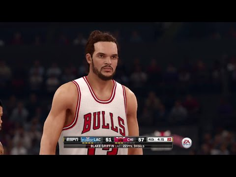 EA- NBA LIVE 16 Gameplay - Los Angeles Clippers vs Chicago B