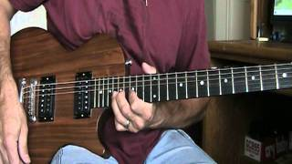 Same Old Song And Dance Aerosmith Guitar Cover