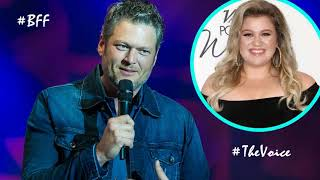 Blake Shelton is happy to have BFF Kelly Clarkson On 'The Voice'