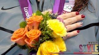 Missy Franklin & Allison Schmitt's Olympic Inspired Manicures!