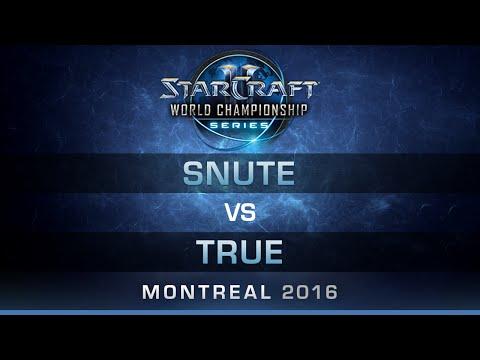 SC2 - Snute vs True [ZvZ] - RO32 - Bo5 - DreamHack Zowie Open Montreal 2016