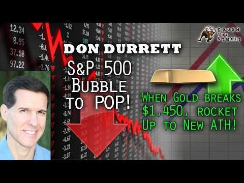 Unprecedented: USD to Crash, Gold to Rise, Central Banks Buying Stocks - Don Durrett Interview