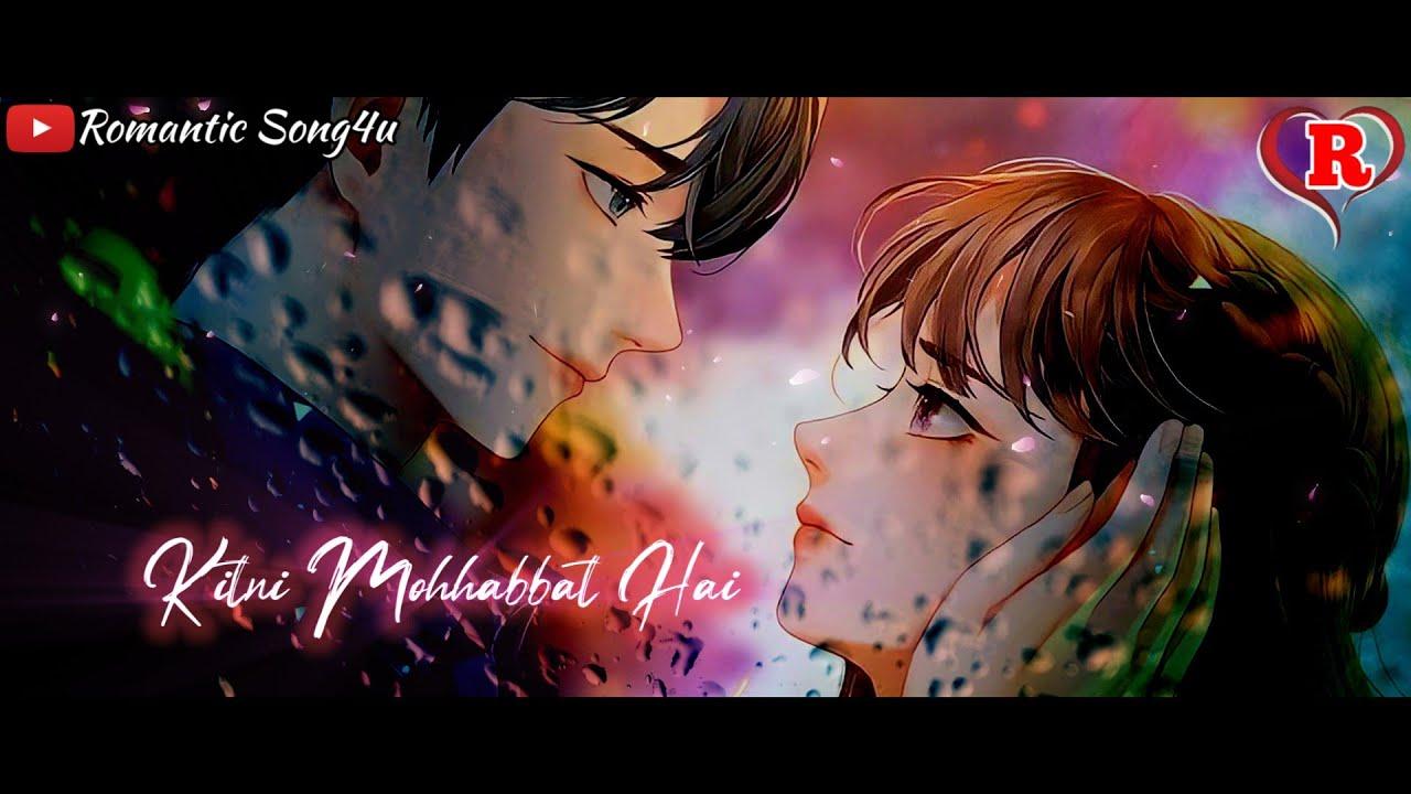 Ke Kitni Mohhabbat Hai Tumse Whatsapp Status Video 🥰✨💖 | Romantic Song4u 😘