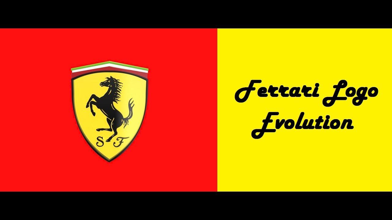 Ferrari Logo Evolution Youtube