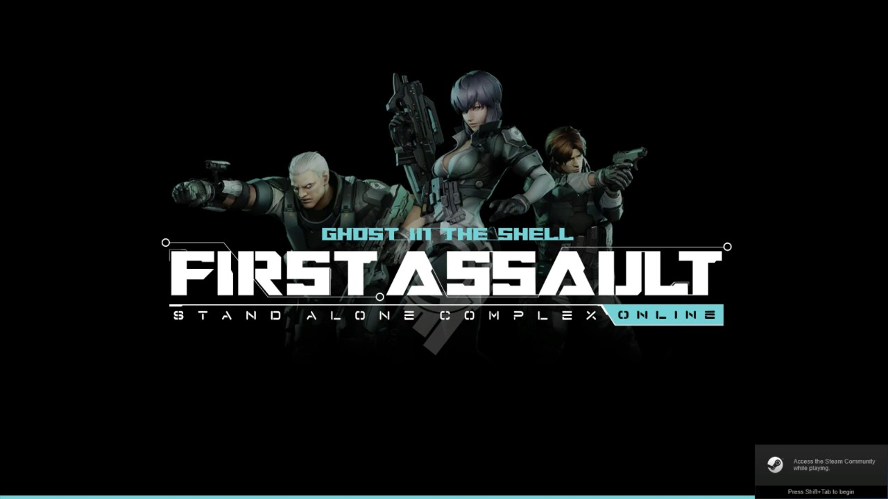 How To Download Ghost In The Shell First Assault Online On Steam For Free Youtube