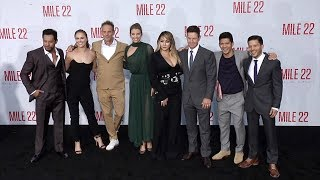 """Mile 22"" World Premiere Main Cast Arrivals"