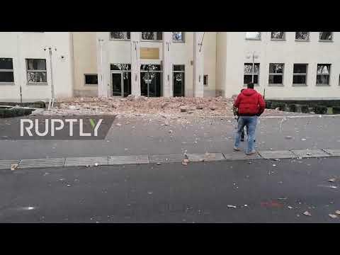 Croatia: 6.4 magnitude earthquake hits Zagreb