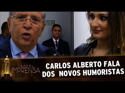 Troféu Imprensa 2017 - Carlos Alberto agradece por prêmio