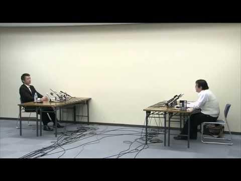 橋下徹vs在特会・桜井誠 【全】10/20  マスコミ説教含む