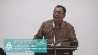 Sekolah Sabat Dewasa Triwulan 2 2019 Pelajaran 13 Membalikan Hati Di Akhir Zaman - Pdt. P. Sibarani