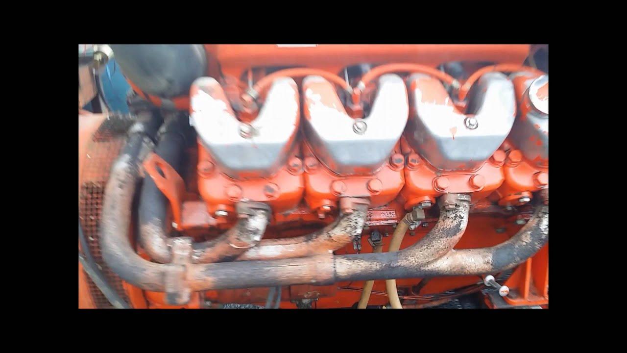 260 kW Waukasha Diesel Generator Scania DS14A01