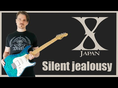 X japan - Silent Jealousy (Guitar cover HD)