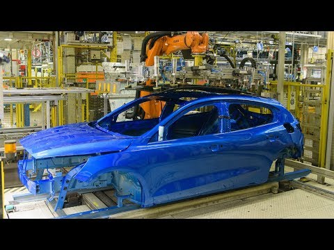 2019 Ford Focus – Production In Saarlouis Plant