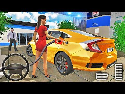 Honda Civic Car Simulator - City Car Driving - Android Gameplay