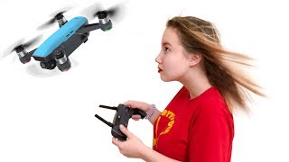 Распаковка и мои впечатления | Квадрокоптер DJI Spark