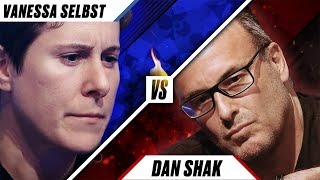 SELBST VS SHAK: Two Maniacs At War ♠️ Poker Rivals ♠️ PokerStars