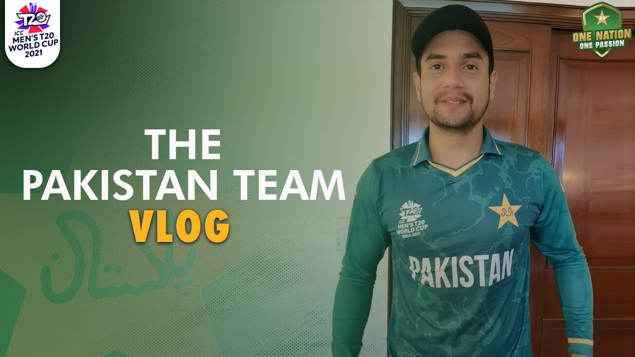 The Pakistan Team Vlog! When the players first saw the #T20WorldCup kit! #WeHaveWeWill 🇵🇰
