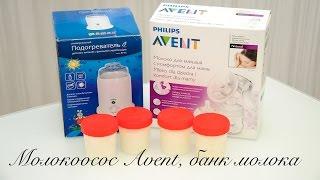 Обзор молокоотсоса Avent и мой банк молока