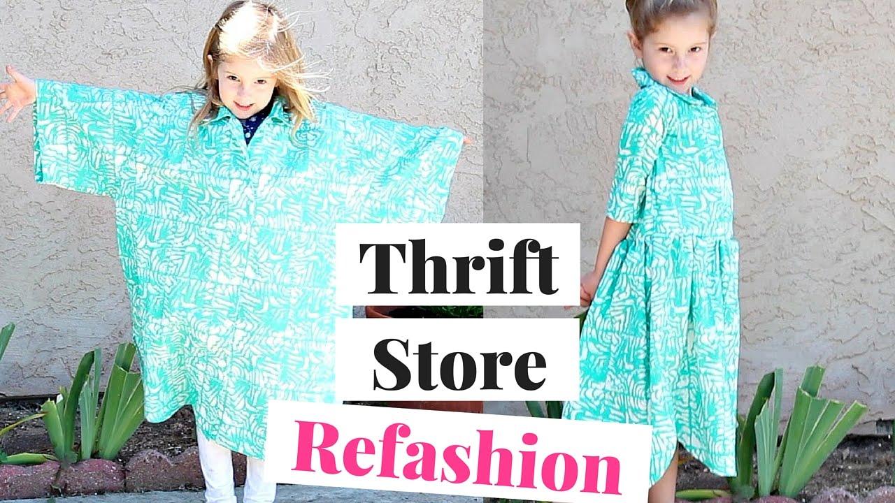 daa32ed518b Thrift Store Refashion
