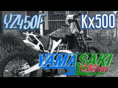 "The Kx 500 conversion ""Yamasaki"" gets done!"