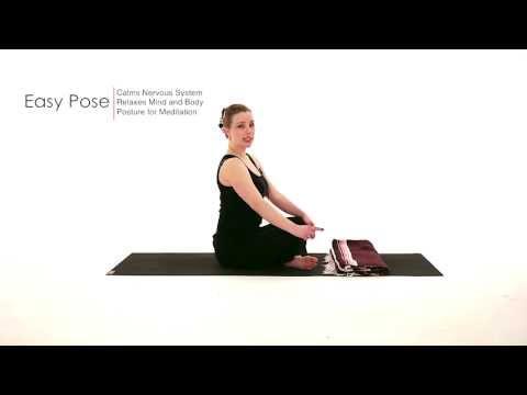 Seated Yoga Pose: Easy Pose (Sukhasana)