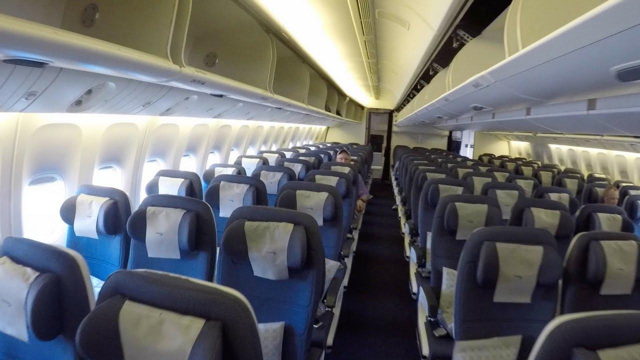Boeing 777 Interior